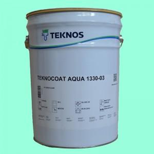 Utwardzany lakier wodny na bazie poliuretanów Teknocoat Aqua 1330-03