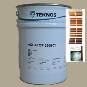 Zewnętrzny lakier nawierzchniowy w kolorze Aqua Top 2600-74