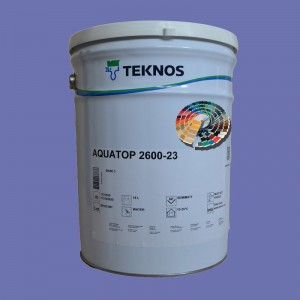 Farba kryjąca z palety RAL/ NCS- Aqua Top 2600-23